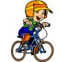 Le Déplacement à vélo c'est sympa